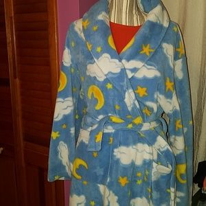 One size cloud and stars Robe